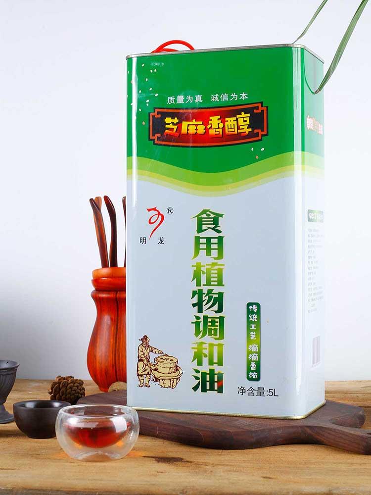 5L食用植物调和油